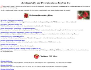 amazing-christmas-ideas.com screenshot
