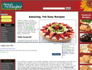 amazing-easy-recipes.com screenshot