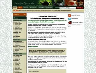 amazing-green-tea.com screenshot