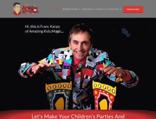 amazing-kids-magic.co.uk screenshot