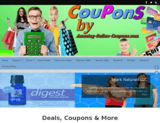 amazing-online-coupons.com screenshot