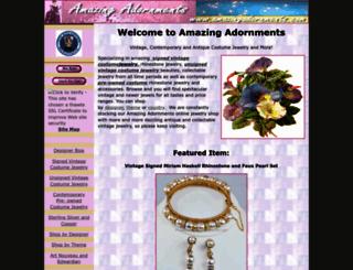 amazingadornments.com screenshot
