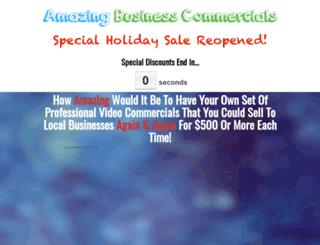 amazingbusinesscommercials.com screenshot