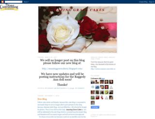 amazinggracecakes1.blogspot.com screenshot
