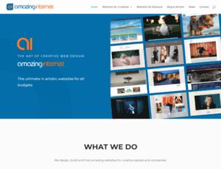 amazinginternet.com screenshot