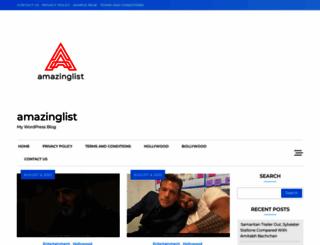 amazinglist.net screenshot
