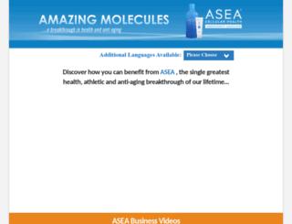 amazingmolecules.com screenshot