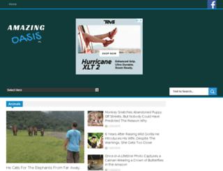 amazingoasis.org screenshot