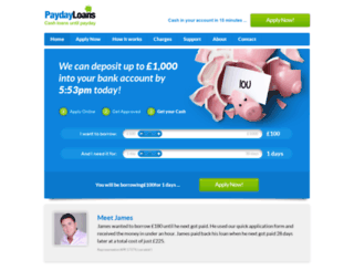 amazingpaydayloans.co.uk screenshot