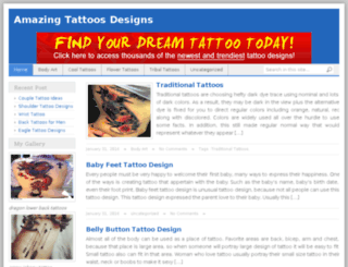 amazingtattoosdesign.com screenshot