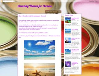 amazingthemes4chrome.blogspot.co.il screenshot