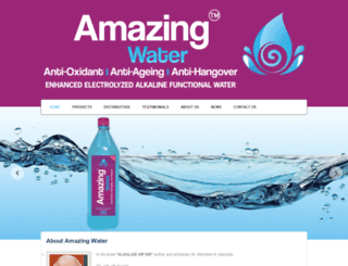 amazingwater.in screenshot