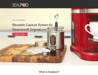 amazon.sealpod.com screenshot
