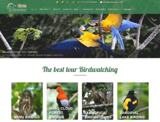 amazonbirds.net screenshot