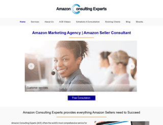 amazonconsultingexperts.com screenshot