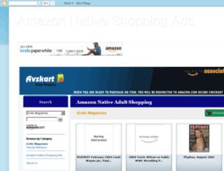 amazonproductadvertising.blogspot.com screenshot