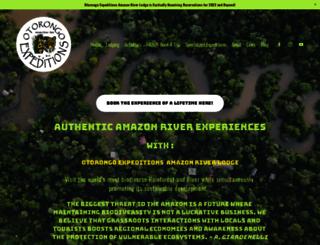 amazonriverlodge.com screenshot