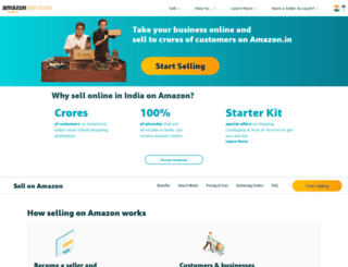 amazonservices.in screenshot