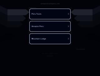 amazontrailsperu.net screenshot