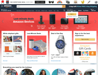 amazonwork.com screenshot