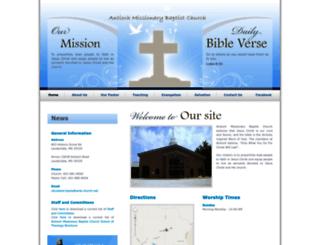 amb-church.net screenshot