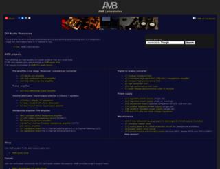amb.org screenshot