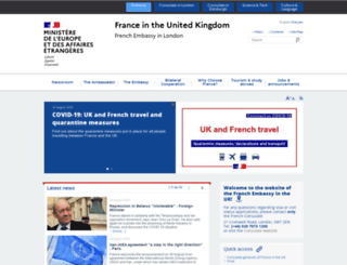 ambafrance-uk.org screenshot