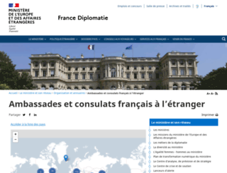 ambafrance.org screenshot