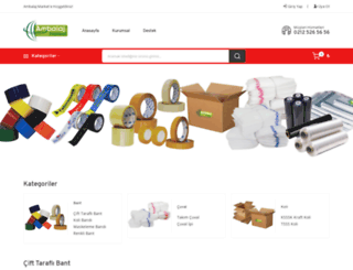 ambalajmarket.com screenshot