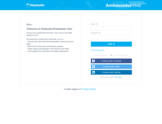 ambassadorhub.hootsuite.com screenshot