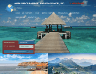 ambassadorpassportandvisa.com screenshot
