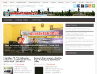 ambawangkuala.desa.id screenshot