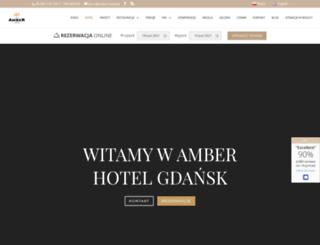 amber-hotel.pl screenshot