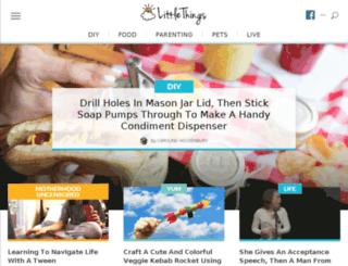 amber-mills.littlethings.com screenshot