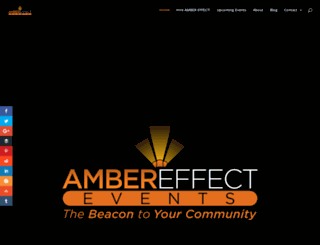ambereffect.com screenshot