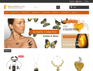 amberjewellery.com screenshot