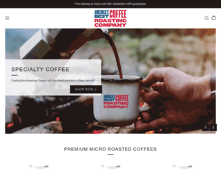 ambestcoffee.com screenshot