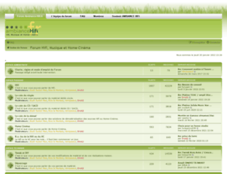 ambiance-hifi.fr screenshot