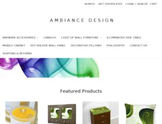 ambiancedesignonline.com screenshot