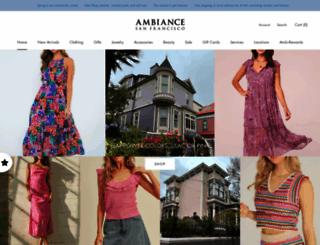 ambiancesf.com screenshot