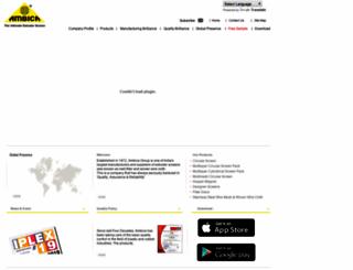 ambicagroup.com screenshot