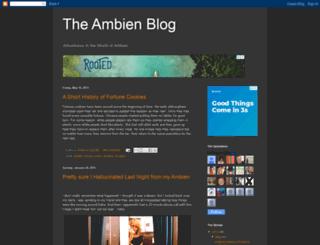 ambien.blogspot.com screenshot