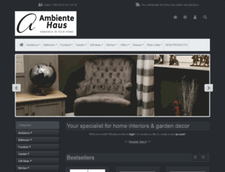 Ambiente Haus access ambiente-haus. ambiente haus - wohnaccessoires und