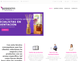 ambientesesenciales.com screenshot