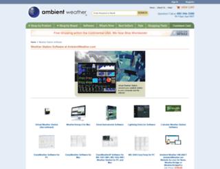 ambientsw.com screenshot