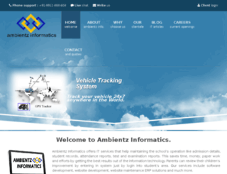 ambientzinformatics.com screenshot