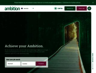 ambition.com.au screenshot