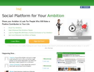ambitionbag.com screenshot