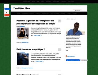 ambitionlibre.com screenshot