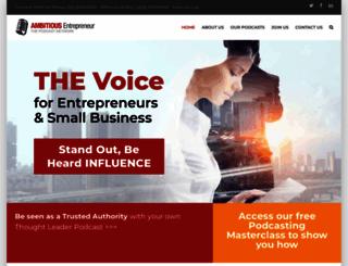 ambitiousentrepreneurnetwork.com screenshot